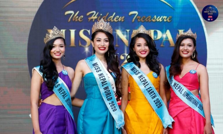 Namrata Shrestha Wins 'Miss Nepal 2020' Title