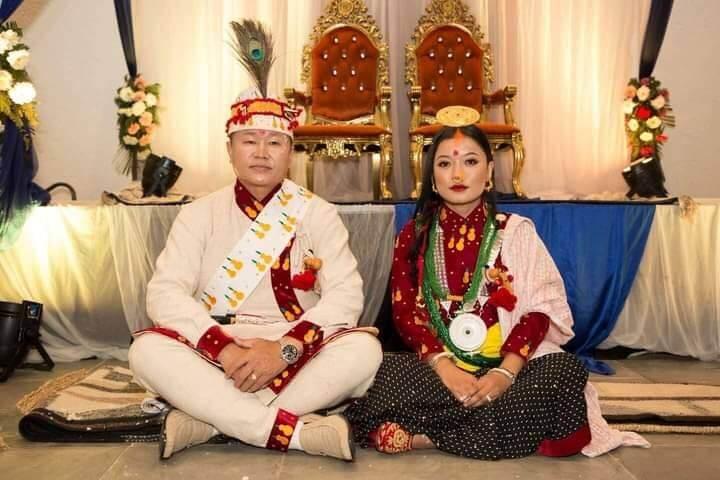 Province-1 CM Sherdhan Rai Ties Knot with Girlfriend! See Wedding Photos!