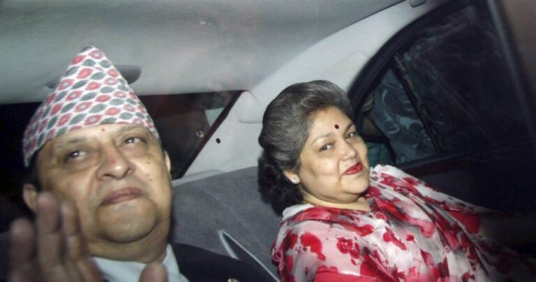 Nepal's Former King, Queen Test Covid Positive On Return From Mahakumbh